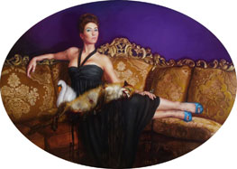 Cara DeAngelis- Woman with Roadkill III