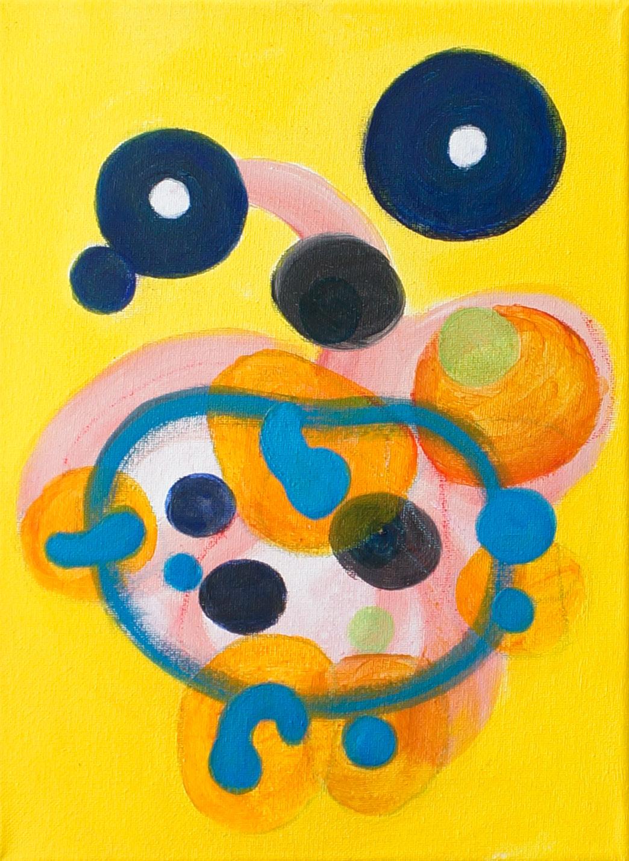 Orin-Buck-2-Happy-Song-acrylic-on-canvas-12x9-2018