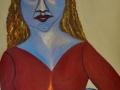 Theresa DeSalvio_Blue Fairy Lights a Candle