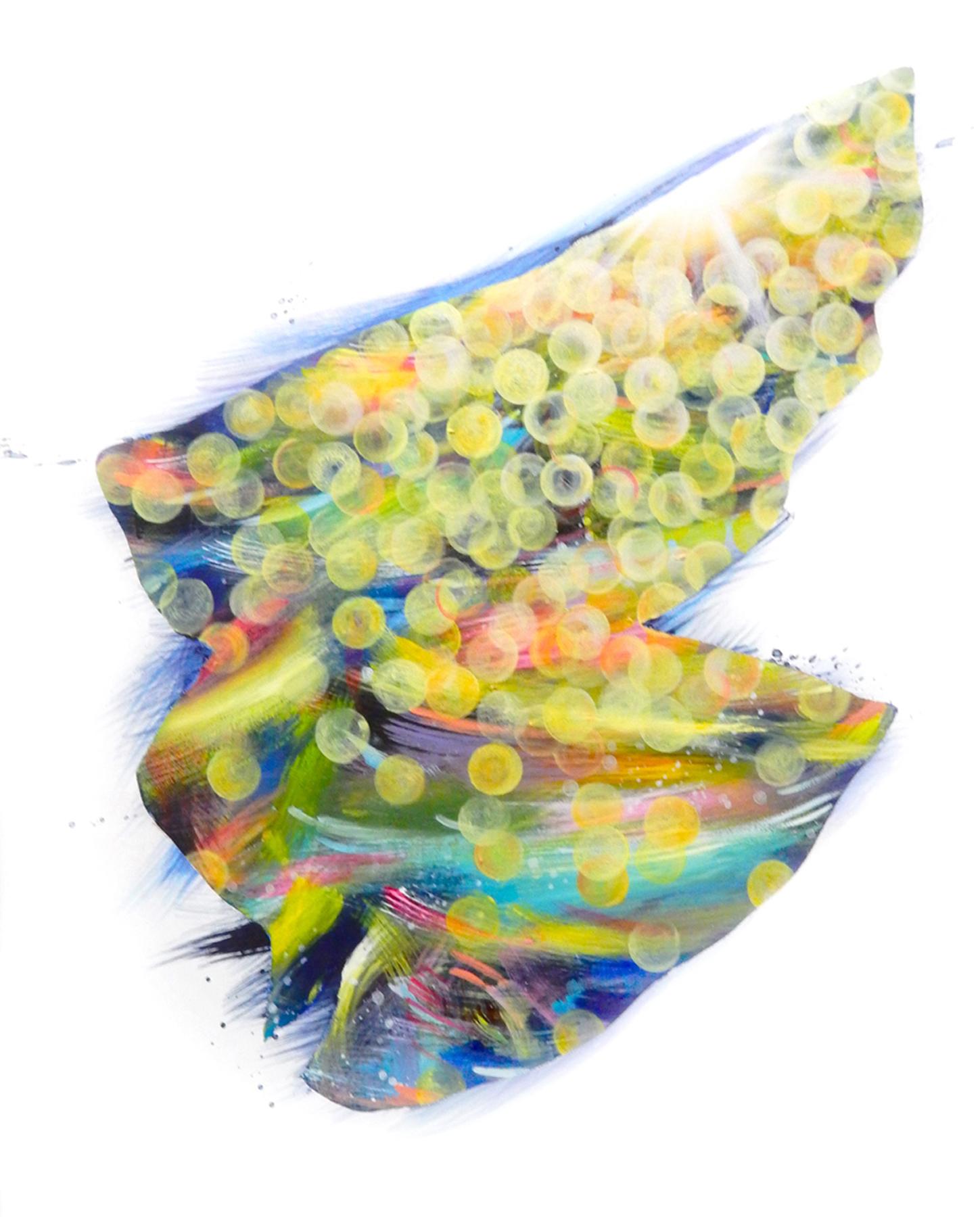 Ayako Bando Towanohikari L Oil & Acrylic on canvas