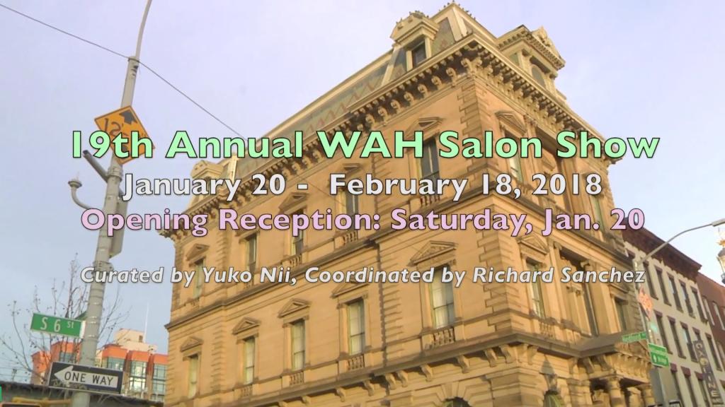 19th Annual WAH Salon Show