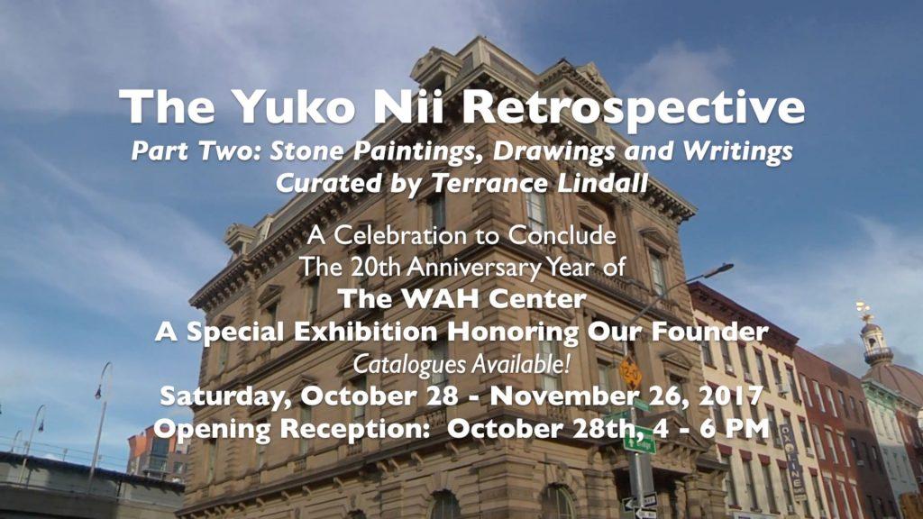 Yuko Ni: Stone Paintings, Drawings & Writings